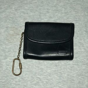 Vintage Coach Mini Purse Key Fob Wallet